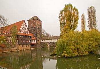 Nürnberg Pegnitzufer Altstadt