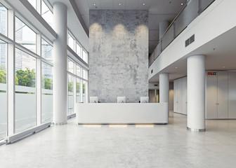 modern business hall Fotomurales