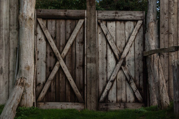 English Wood gate