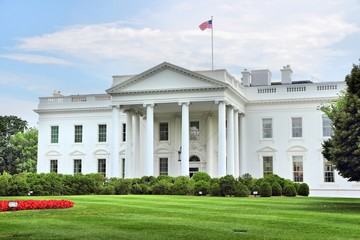 Printed roller blinds United States White House