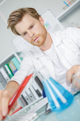 lab male worker