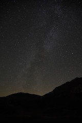 Milky way at the Simplon Pass