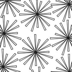 fireworks splash pattern background