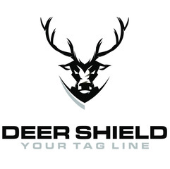 Deer Shield Logo 2