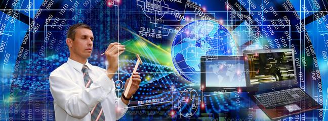 computer internet global technology