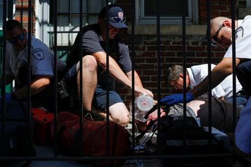 The Wider Image: Boston-area paramedics face front lines of U.S. opioid crisis