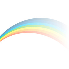 Gradient rainbow effect