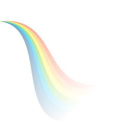 Gradient rainbow effect