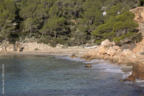 Cala Saladeta Cove Beach