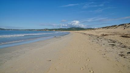 Strand bei O Grove, Galizien, Spanien, Europa