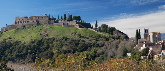 Castle and Village of Hostalric
