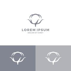 cotton logo vector download