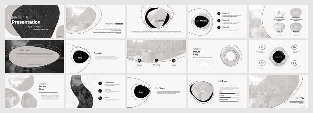 Light Presentation Templates Element  Vector Infographics. Use in Presentation, flyer and leaflet, corporate report, marketing, advertising, annual report, banner.
