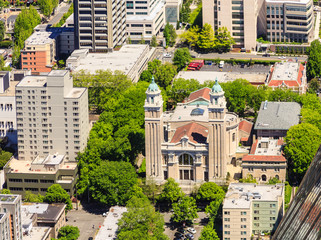 Saint James Cathedral from Above