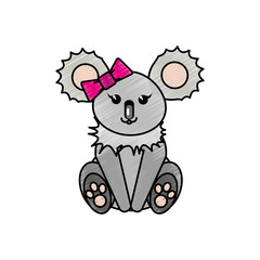 Koala cartoon design