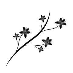 flower wild icon image vector illustration design