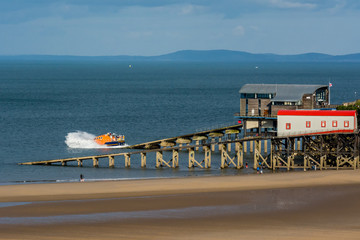 Training Launch of the Tenby Lifeboat