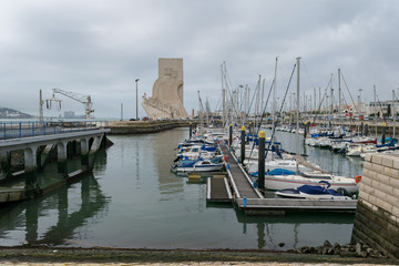 Port in Belem, Monument of Discovery