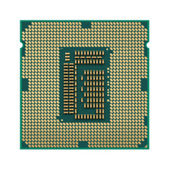 Computer Processor CPU Isolated