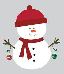 Christmas Ornament Snowman