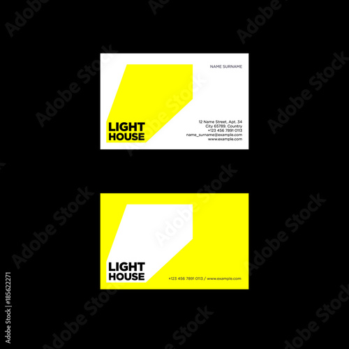 Lighthouse logo ray of light emblem identity business card lighthouse logo ray of light emblem identity business card colourmoves