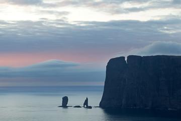 Faroe island, Risin og kellingin, Eiði , Eysturoy Wall mural