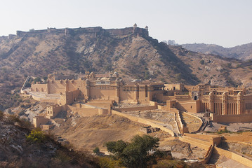 Amer Fort near Jaipur India