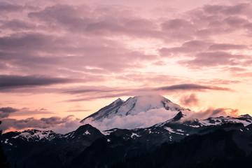 Artist Point Views at Mount Baker