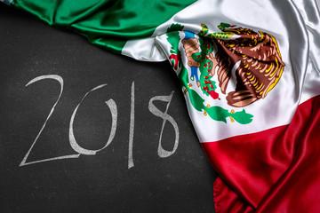 Mexican flag, 2018