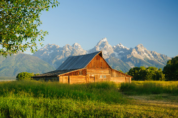 Barn in the Teton National Park
