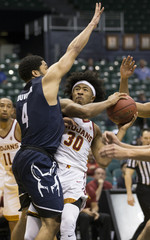 NCAA Basketball: Akron at Southern California