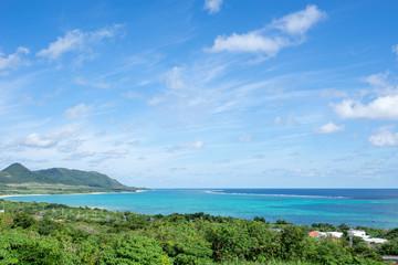 玉取崎展望台から見る太平洋の景色