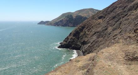 coastal scenery near San Francisco