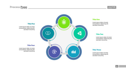 Five Circles Plan Slide Template