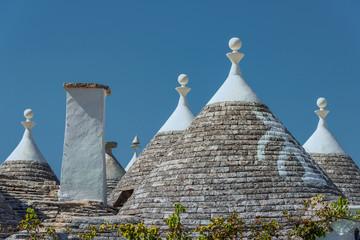 Die Runden Dächer von Alberobello