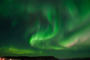 Northern Light in Greenland