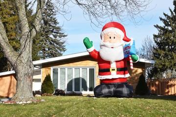 Huge Santa
