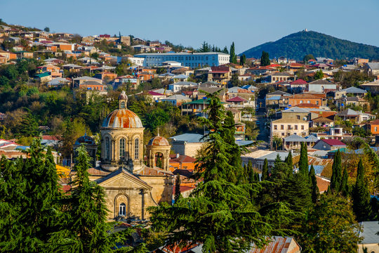 View over Kutaisi, Georgia