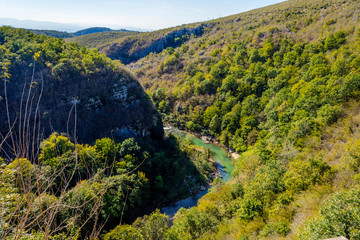 Okatse Canyon, Georgia