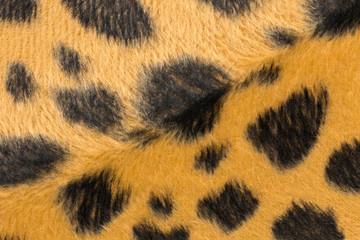 closeup artificial tiger skin pattern