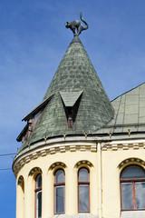 Historisches Katzenhaus in Riga, Lettland