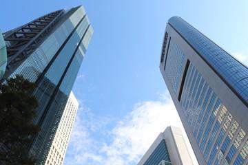 東京・汐留の高層ビル群