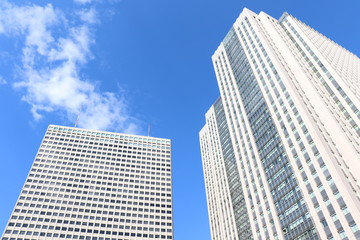 東京・霞が関の高層ビル群
