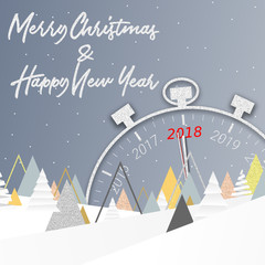 2018 - Merry Christmas and happy new year