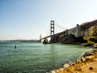 Golden Gate Bridge - San Francisco, California, CA, USA