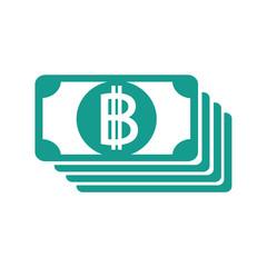Blockchain Bitcoin Crypto currency sign icon