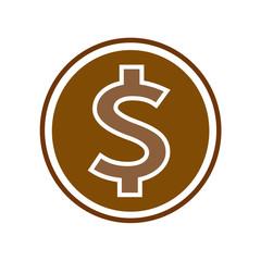 dollar money icon