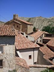 Villarroya de los Pinares, pueblo de Teruel en la Comunidad Autónoma de Aragón, España