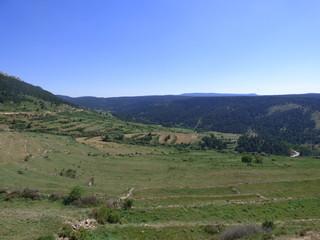 Gúdar Pueblo de Teruel, en la Comunidad Autónoma de Aragón, España