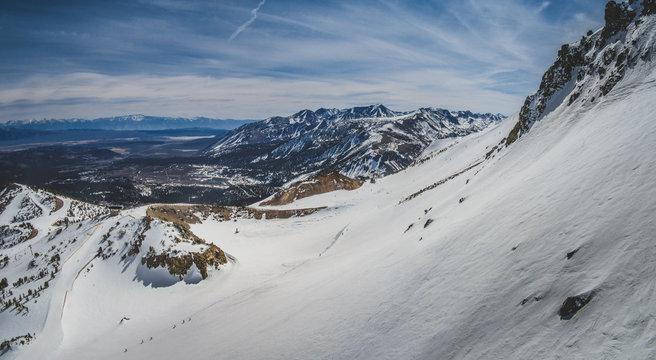 Mammoth Mountain Panorama